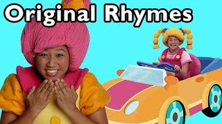 Driving In My Car and More Original Rhymes | Nursery Rhymes from Mother Goose Club!
