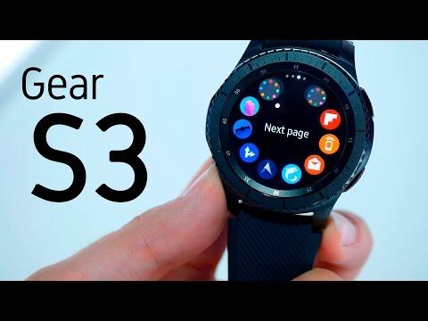 Samsung Gear S3, impresiones en español