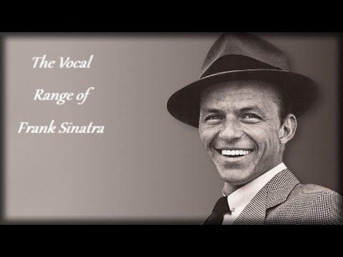 The Vocal Range of Frank Sinatra -- D2-G♯4