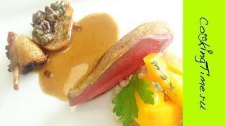 День#9 в Институте Бокюза - готовим изысканные блюда из мяса и птицы - голубь, телятина, ягнятина