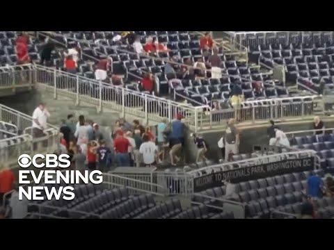 Gunfire erupts outside Washington Nationals' stadium