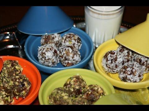 recette-boulettes-aux-dattes-&-noix---date-&-nut-balls-recipe---recettes-maroc