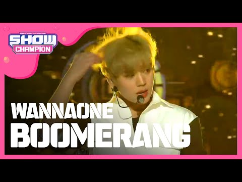 Show Champion EP.264 WANNA ONE - BOOMERANG