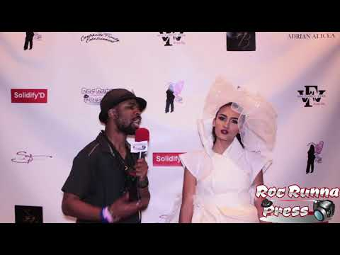 Big Vegg Interviews Bianca Samantha Mcnulty @ The Miss Fashion Week Jersey City