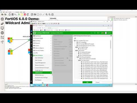 2 Configure LDAP and admin groups on FortiGate - YouTube
