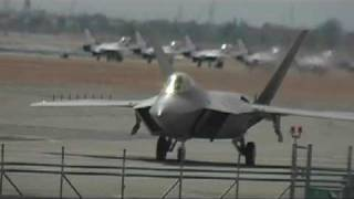 F22 RAPTOR DEFIES GRAVITY