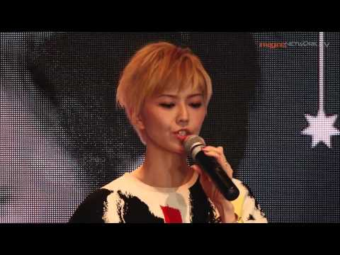 Stefanie Sun's Press Conference in Singapore (2014) Part 1