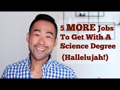5 MORE Jobs You Can Get With A Science Degree (That You Still Don't Know About!)