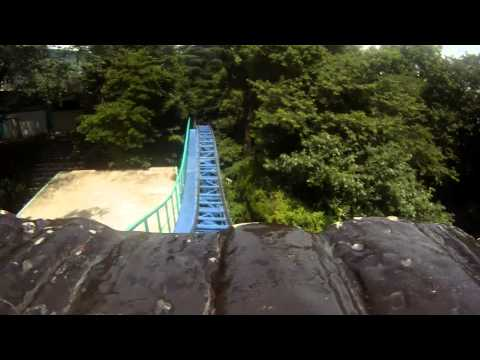 Cyclone Roller Coaster POV Japanese Jet Coaster Toshimaen Tokyo Japan 1080p HD