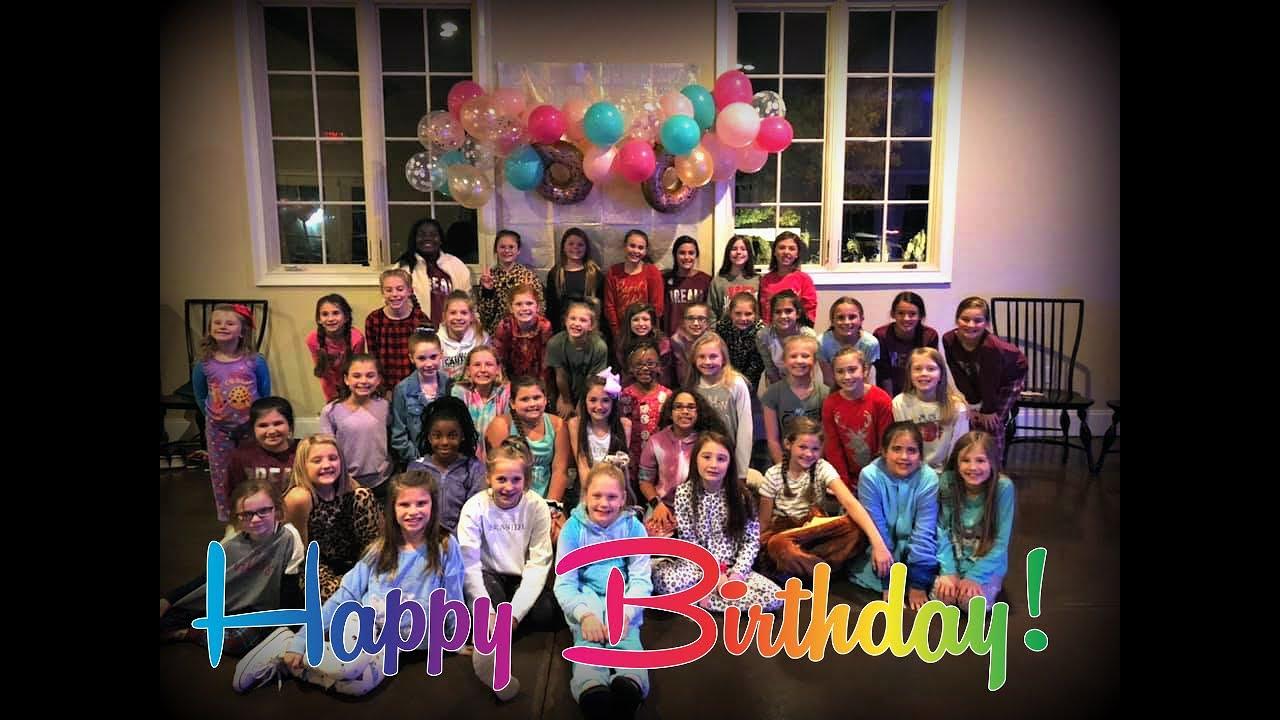Olivia Gays Birthday Dance Party - November 15th, 2019
