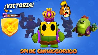 Brawl Stars Gameplay Spike Enmascarado(Mike Wazowski) SOLDIERDIEGO / ELSOLDIERDIEGO