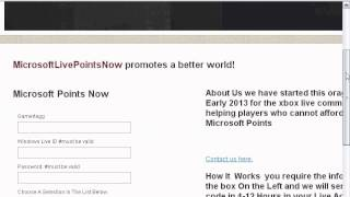 How To Get Free Microsoft Points 2013 FREE