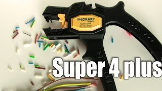 Стриппер для снятия изоляции с проводов Jokari Super 4 plus