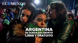 Argentina se queda sin aborto libre y gratuito