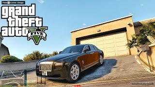 GTA 5 MODS - LET'S GO TO WORK - PART 44 (GTA 5 PC MODS) UBER DRIVER