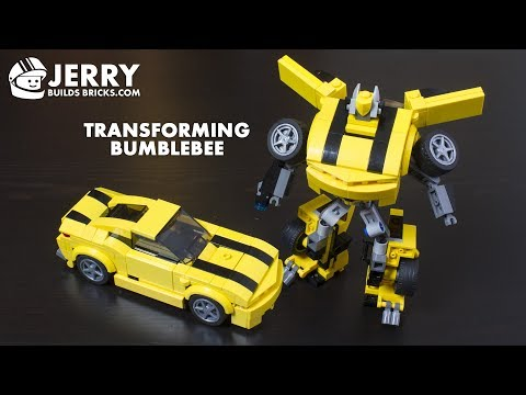 LEGO Transforming BumbleBee instructions (MOC #72)