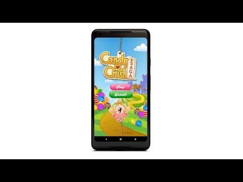 Candy Crush Saga joins Google Play Instant