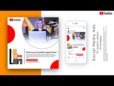 Learn Online Graphic Advertising Post Design in Photoshop || Typography Tutorial