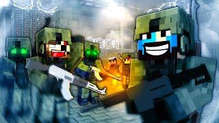 IM BEING SHOT! - Minecraft Zombie Apocalypse #1 - Decimation Mod