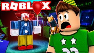 SURVIVE THE PAYASO OF the BIRTHDAY PARTY ! Roblox Camping Part 19
