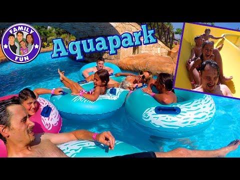 Download Youtube: WASSERSPAß IM AQUAPARK | MEGA FUN FAMILIENSPAß | FAMILY FUN