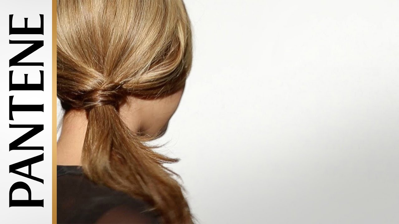 Easy Hairstyles for Long Hair - Low Side Ponytail - YouTube