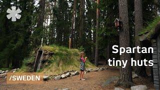 Tiny Huts To Enjoy The Basics In Swedish Spartan Rural Lodge