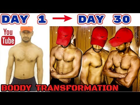 200 PUSH UPS A DAY FOR 30 DAY CHALLENGE || Body Transformation