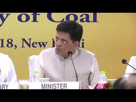 Speaking at Coal Vision 2030 & launch of UTTAM app, In New Delhi