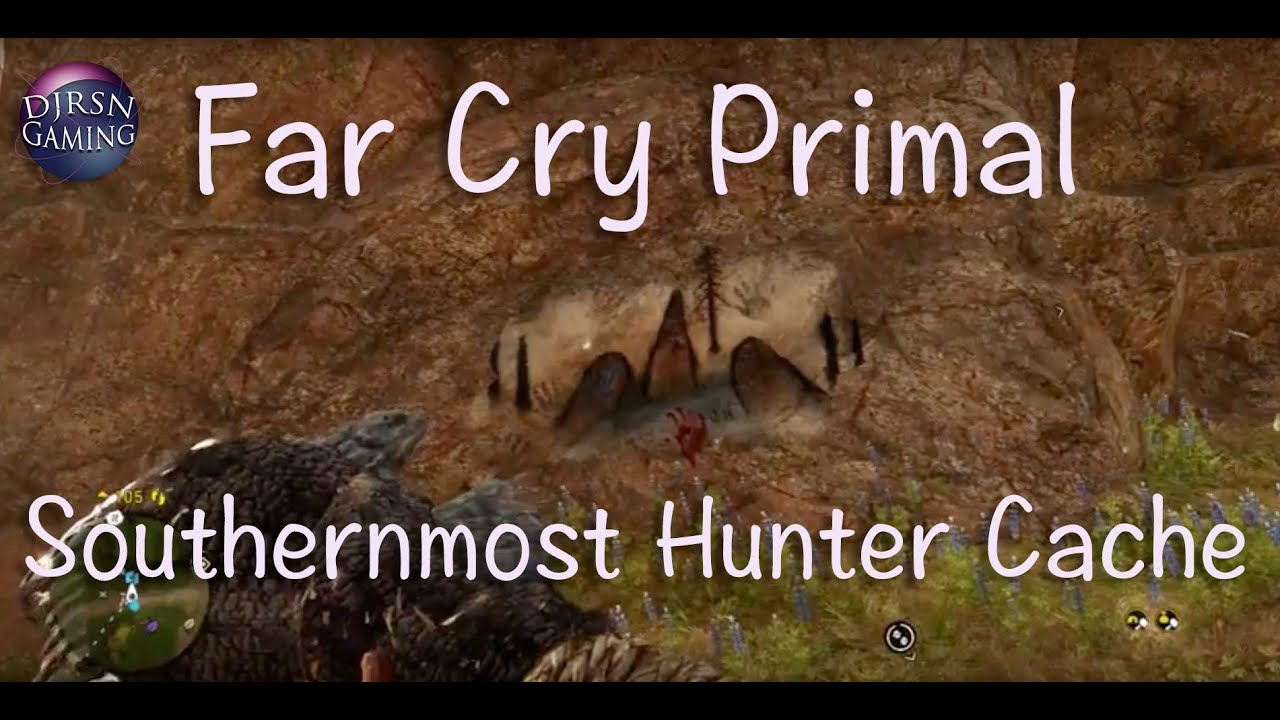 how to get hunters cache in primal
