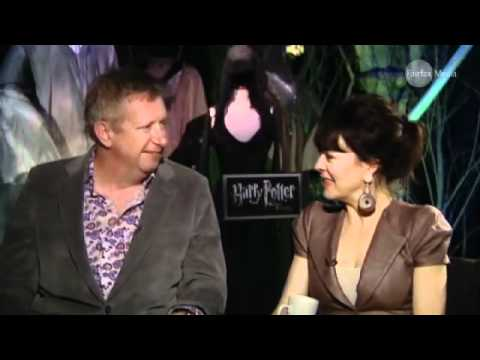 Mark Williams & Helen McCrory talk Harry Potter