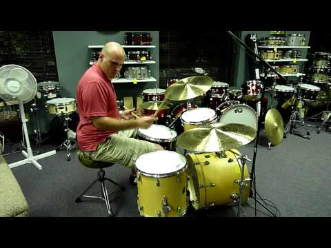 Justin Ottaviano Plays His Custom Cymbals - Part 1