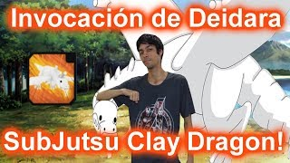 Defeating Deidara for her Clay Dragon! Roblox: NRPG: Beyond