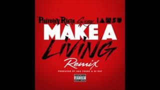 Philthy Rich - Make A Living (Remix) Feat. G-Eazy & Iamsu!