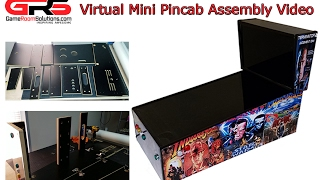 GameRoomSolutions com Virtual Pincab Assembly Video