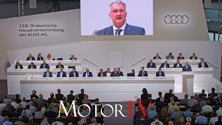 128th ANNUAL GENERAL MEETING AUDI AG l Full Press Conference (ENG)