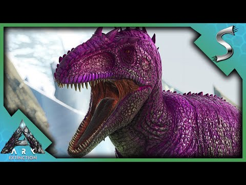 MY NEW MUTATED GIGA IS PERFECT FOR RED SUPPLY DROPS! - Ultimate Ark [E90 - Extinction]