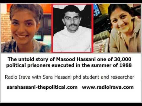 Untold story of Mahmood Hassani one of Iran's 30,000 political prisoners executed in summer of 1988