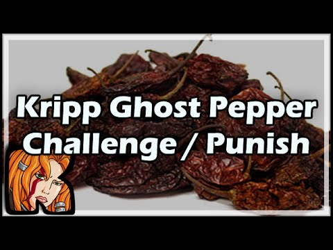 Kripp's Ghost Pepper Challenge / Punishment
