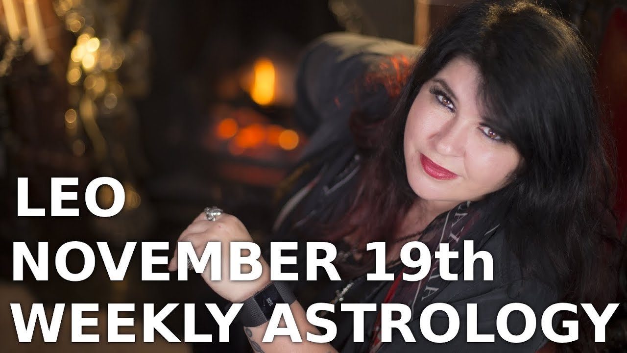 leo weekly astrology forecast december 19 2019 michele knight