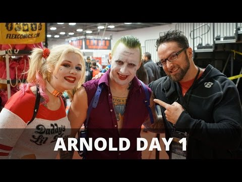 Layne Norton Arnold Expo Day 1