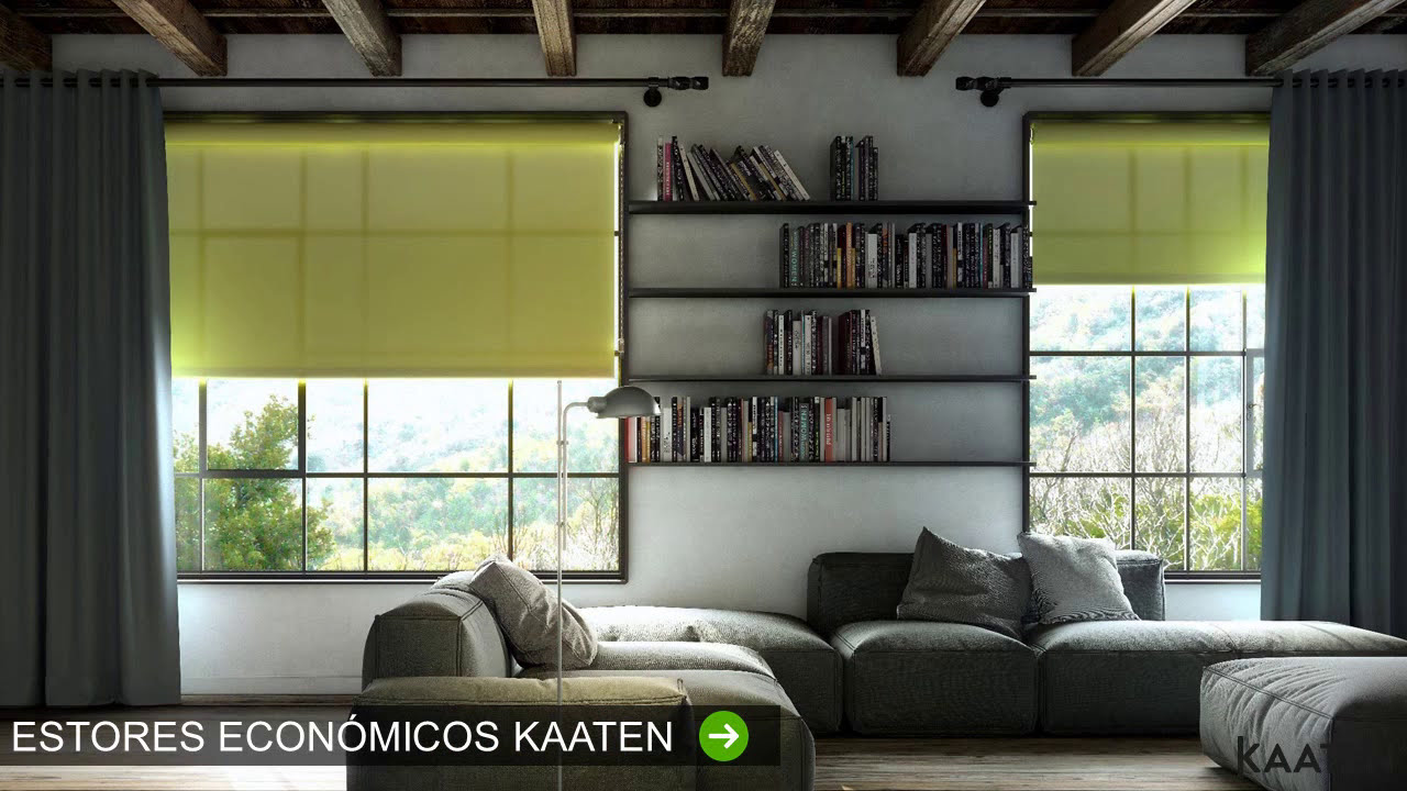 Estores y cortinas kaaten tendencias y fabricaci n for Tendencias en cortinas