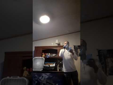 treyvon Creighton singing say goodbye by Chris brown
