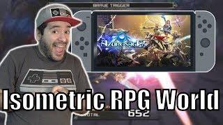 Azure Saga: Pathfinder DELUXE Edition - Nintendo Switch eShop Game Worth Buying?