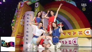 Download [레드벨벳(Red Velvet)] 행복(Happiness) @인기가요 Inkigayo 140810