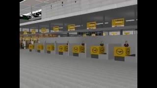Check In - München Flughafen / Aéroport de Münich