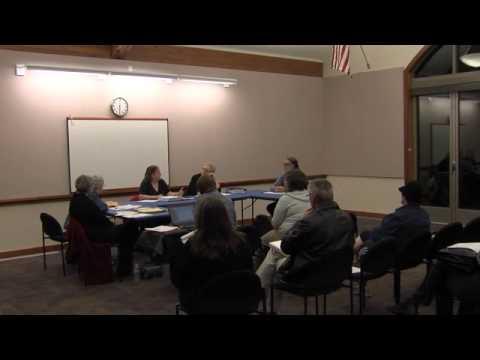 Estacada Library Board Meeting Nov 2012
