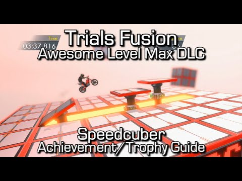 Trials Fusion - Speedcuber Achievement/Trophy Guide - Awesome Level Max
