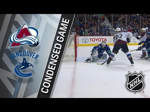 Colorado Avalanche vs Vancouver Canucks – Jan. 30, 2018 | Game Highlights | NHL 2017/18. Обзор матча