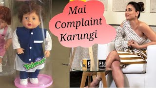 Kareena kapoor reaction for taimur toy she's angry on compony